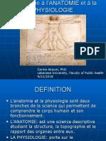 Introduction Anatomie 2020
