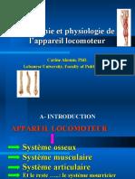 Osteologie myologie final