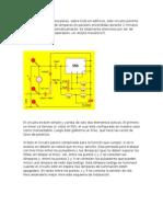 diagrama de juego de luces 220v