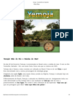 Yemọja - Candomblé sem Segredos