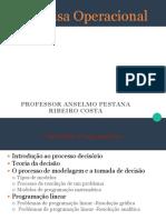 PO - Programação Linear - Modelagem - ADM