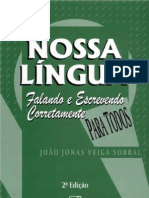 Apostila Nossa Língua Portuguesa - Falando e Escrevendo Corretamente