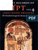 BREASTED, James H. - Ancient Records of Egypt - Vol. 4 - The Twentieth Through the Twenty-Sixth Dynasties