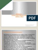 Module Strategie Marketing Edition 2012