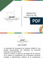Presentacion Rendicion de Cuentas Incial 2020