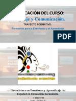 Curso Propedéutico (Lenguaje y Comunicación)
