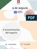 Plan de Negocio Acqua-service, grupo 12