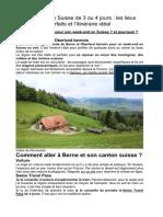 Des articles pour pratiquer le français
