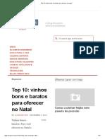 Top 10_ vinhos bons e baratos para oferecer no Natal