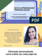28.05 -Avaliação e personalização -Karyne Santiago