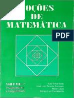 Aref - Noções de Matemática Vol. 2
