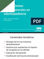 14 Teoria de Traumatologia Dentoalveolar W2020-II