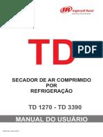 Manual secador TD1270 - TD 3390 -2009 port