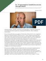 sul21.com.br-Sebastião Pinheiro O agronegócio transformou-se em algo que não é mais agricultura