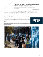 agora.folha.uol.com.br-Prefeitura de SP recua e diz que é recomendável bares e restaurantes pedirem passaporte da vacina
