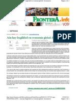 04-04-11 Aun hay fragilidad en la Economia Global