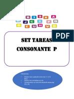 set consonante p