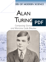 Alan Turing Genius and Wartime Code Breaker