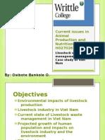 Livestock and environmental pollution_Viet Nam