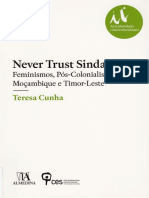 Livro_Never trust Sindarela - Teresa Cunha