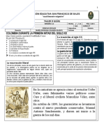 TEMA 1 HISTORIA 9 Colombia Mitad Siglo XX