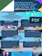 PROGRAMAS PRIORITARIOS DEL MINISTERIO DE SALUD PUBLICA