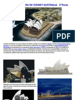 Arquitectura y Tecnología   5°Parte  OPERA DE SYDNEY 2