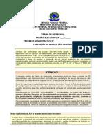 Modelo de Termo de Referência - Serviço Não Contínuo - Atualização SET-2020