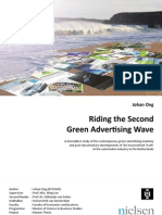 Riding the Second Green Advertising Wave