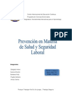 Prevencion Accidente Laboral