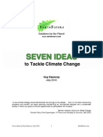 Seven Ideas to Tackle Climate Change