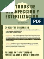 Metodos de Desinfeccion y Esterilizacion