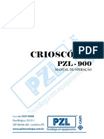 Crioscópio - Manual pzl900