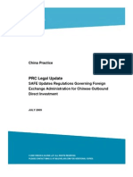 WP_ChinaPractice_2009_07_28-SAFEUpdatesRegulationsGoverningForeignExchangeAdmin