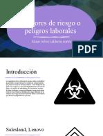 Factores de Riesgo o Peligros Laborales