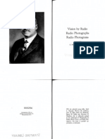 "C. Francis Jenkins, ""Vision by Radio,"" 1925."