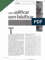 Simplificar sem falsificar - Magda Becker Soares