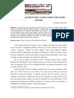 APROXIMAÇÕES ENTRE CLARICE LISPECTOR E MARIA BONOMI