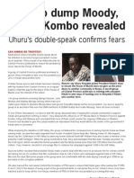 Uhuru 2012 Successor