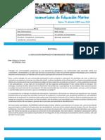 Boletin Latinoamericano de Educacion Marina 15 Dic09-Ene10