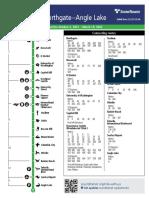 Sound Transit - Link 1 Line Fall 2021 Schedule