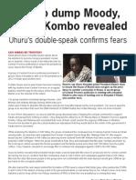 Uhuru is Kikuyu Successor in 2012