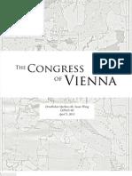 Report - Congress of Vienna