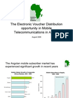 The Electronic Voucher Distribution opportunity in Angola