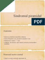 Sindromul piramidal