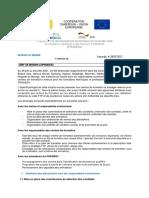 Rapport Mission de Démarrage Des FTP 03082021 OK