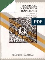 5. Carlos Alemany. Psicologia y Ejercicios Ignacianos. Volumen I.