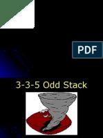 2005 3-3-5 Odd Stack Defense - 24 slides