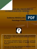 EXPO psico forense