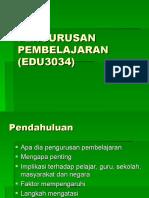 20100309100314K1 PENGURUSAN__PEMBELAJARAN_(EDU3034)